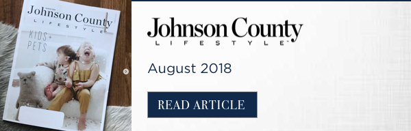Johnson County Lifestyle August 2018 - Nest Interiors